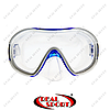 Маска для дайвинга и плавания Dorfin PL-265TSS (термостекло, силикон, пластик, синяя)