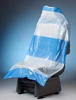 Чехол на сидения одноразовый полиэтиленовый Premium 250 шт.