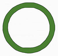 Декоративное кольцо/адаптер Berker MOBIL R TWIN Зелёный (9196963)