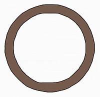 Декоративное кольцо/адаптер Berker MOBIL R TWIN Коричневый (9196901)
