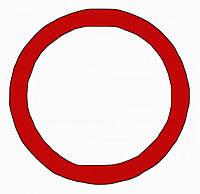 Декоративное кольцо/адаптер Berker MOBIL R TWIN Красный (9196962)
