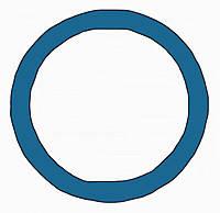 Декоративное кольцо/адаптер Berker MOBIL R TWIN Синий (9196965)