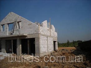 Кладка стен из пеноблока, газоблока, фото 2