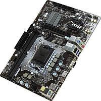Материнская плата MSI H110M PRO-VH (microATX; Socket 1151; Intel H110; Встроенное видео: интегрированное в про