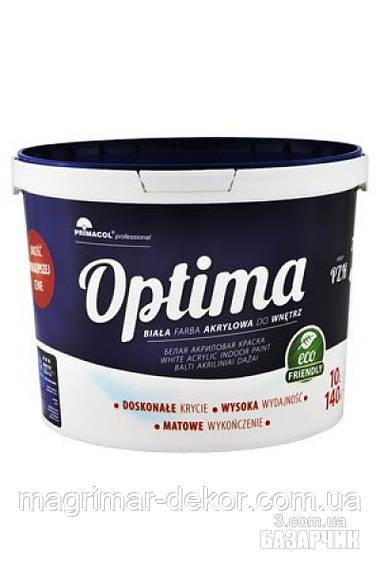 Акриловая краска Optima от Primacol Professionаl