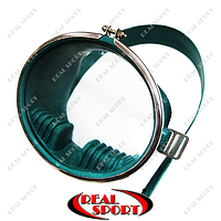 Маска для плавания Акванавт UR PL-4454 (резина, металл, каленое стекло)