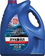 Полусинтетическое моторное масло Lukoil avangarde extra 15w-40