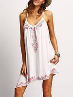 Пляжное платье с рисунком СС7300