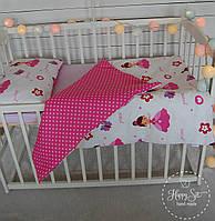 """Постільна білизна в ліжечко """"Принцеси""""1264"""