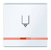 Накладка для карточного выключателя для отелей с линзой Berker Q.1/Q.3 Полярная Белизна (16406089)