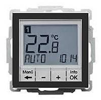 Термостат цифровой с таймером и дисплеем 8А/250В Berker Q.1/Q.3 Антрацит (20446086)
