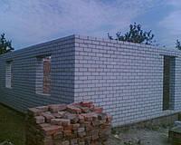 Кладка стен из силикатного кирпича