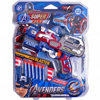 Игрушечный пистолет Капитан Америка, фото 1