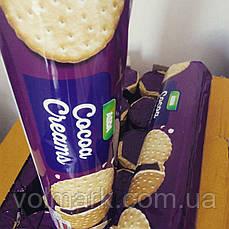 Печенье шоколадно-бисквитное Asda Сocoa Creams 500г