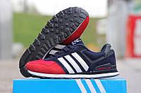 Кроссовки женские Adidas красно-синие