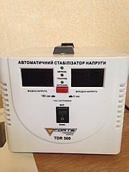 Стабилизатор напряжения FORTE TDR-500VA(2 цифр.дисплея)