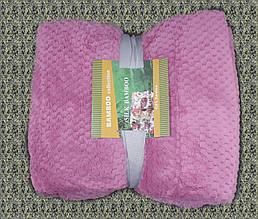 Плед Koloco Silk Bamboo рожевий