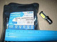 Лампа LED двухконтактная  указателей поворотов и стоп-сигналов  4SMD Mega-LED BAY15d 12V WHITE  <TEM tmp-09BAY15d-12V
