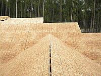 Монтаж OSB ОСБ плит на крышу