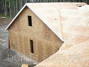 Монтаж OSB ОСБ плит на крышу, фото 2