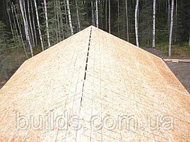 Монтаж OSB ОСБ плит на крышу, фото 3