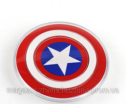 Беспроводное зарядное устройство Qi S2, в виде щита капитана Америка, железного человека!Акция, фото 2