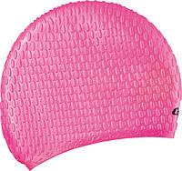 Женская шапочка для бассейна силиконовая Cressi Sub Lady Cap; розовая