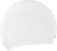Женская шапочка для плавания Cressi Sub Lady Cap; белая