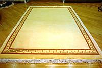 Китайский  шерстяной ковер,  ручной работы (Белый Версачи)
