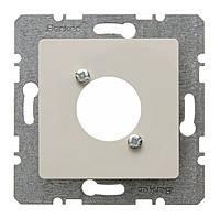 Накладка для XLR цилиндрических электросоединителей D-серии Berker S.1 Белый (141202)