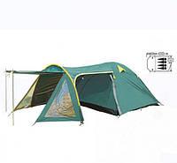 Палатка четырехместная с тентом FRT-207-4