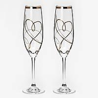 Свадебные бокалы со стразами Swarovski, арт.103