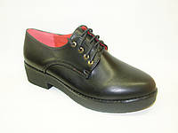 Туфли женские черные Т630 р 36,37,39,40
