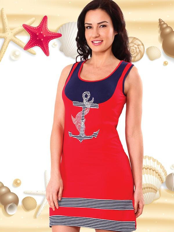 Яркая летняя туника Турция 6035 - FaShop  Женская одежда от производителя в Харькове