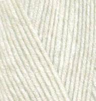 """Детская пряжа Alize Baby Wool """"01"""" для Ручного Вязания"""