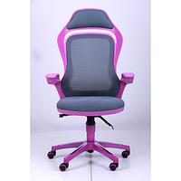 Кресло Spider GTX сетка серая, каркас фиолетовый (AMF-ТМ)