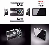 Автомобильный видео регистратор A9 Full HD 2 камеры 170 градусов