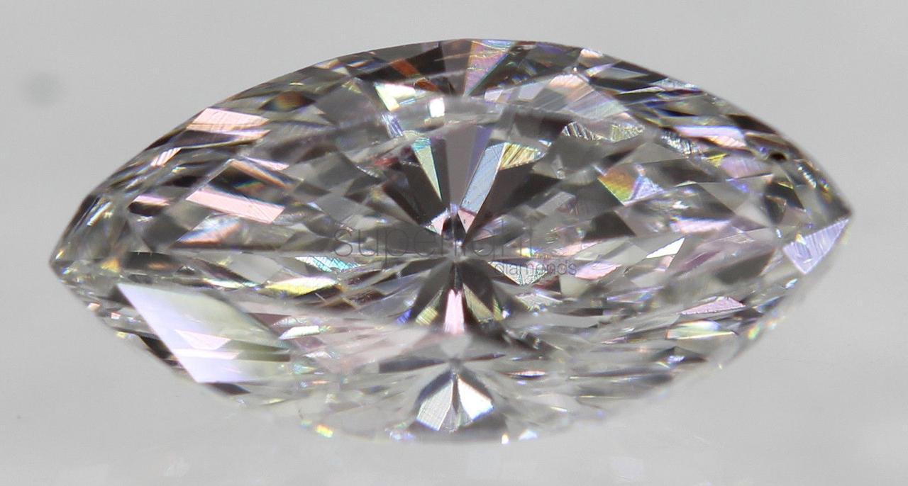 Бриллиант природный 0.44 Carat E VS1 Marquise 7.34x3.78mm