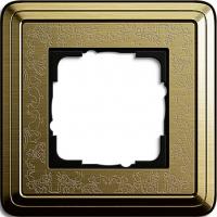Установочная рамка 1-местная Gira ClassiX Art Бронза (211661)