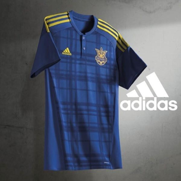 Футболка игровая сборной Украины Adidas FFU Away Jersey