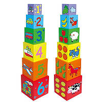 Набір кубиків Пірамідка Viga toys (59461)