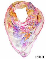 Нежный шейный платок 60*60  (61001), фото 1
