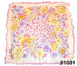 Нежный шейный платок 60*60  (61001), фото 2