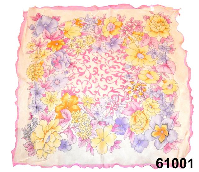 Нежный шейный платок 60*60  (61001) 2