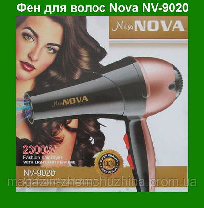 Фен для волос Nova NV-9020 2300W!Акция, фото 2