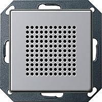 Динамик для радиоприемника скрытого монтажа Gira E22 Алюминий (2282203)