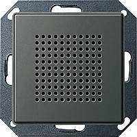Динамик для радиоприемника скрытого монтажа Gira E22 Сталь (228220)