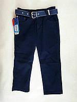 Джинсовые брюки zeyser классические школьные  синие, на мальчика 6-9 лет