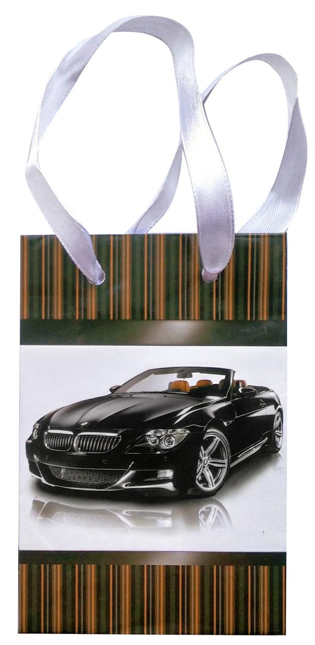 Подарочный пакет глянцевый 12 см