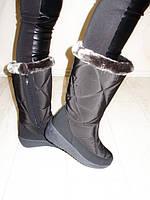 Сапоги женские зимние черные С525 р 37,38,41,42